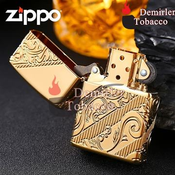 Zippo Çakmak 2018 Collectible of the Year ARMOR GOLD