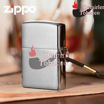 Zippo Çakmak Loss Proof Brushed Chrome