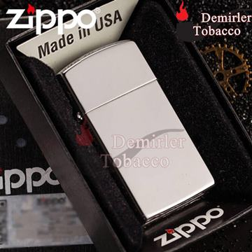 Zippo High Polish Chrome Slim Çakmak